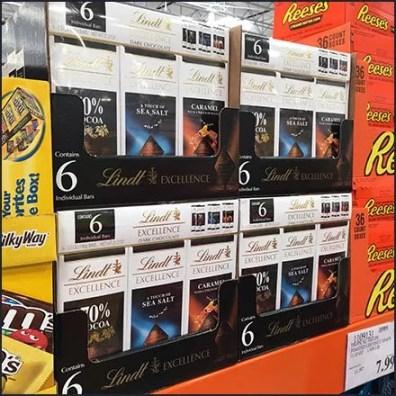 Lindt Bulk Pack For Pallet Rack Sales Feature