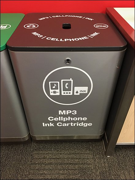 Recycling Goes High Tech At Target