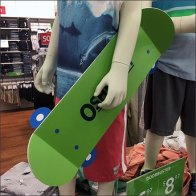 Osh Kosh B'Gosh Skateboard Branding