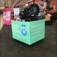 Recycle Your Cart Seat, Get 20% Off New