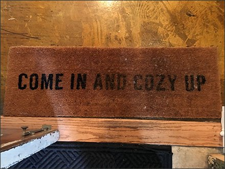 Rustique Cozy Up Welcome Mat