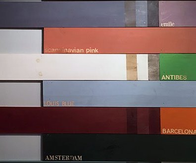 Rustique Wall-Size Color Coordination