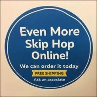 Skip-Hop Must-Haves Freestanding Sign Board