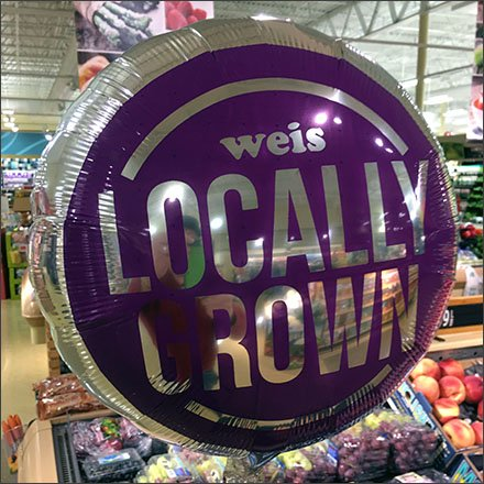 Weis Locally Grown Inflatable In Produce