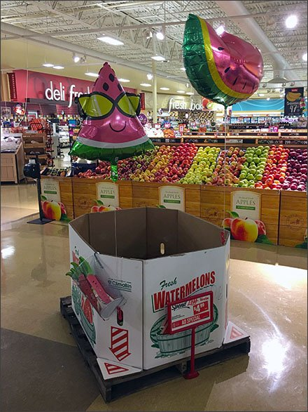 Weis Watermelon Inflatables In Produce