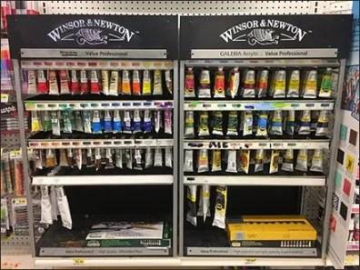 Oil and Acrylic Paint Tube Hang Racks