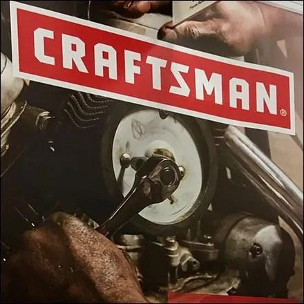 Craftsman Tool Set Lifetime Endcap Display