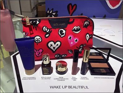 Estee Lauder Free Gift Counter-Top Display
