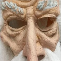 Halloween Mask on Flip Front Hook Square2