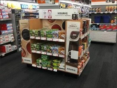 Keurig Coffee Favorites Island Display