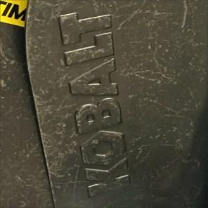 Kobalt Embossed Shovel Branding Feature