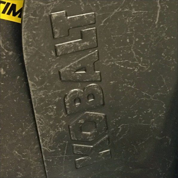Kobalt Embossed Shovel Branding Feature