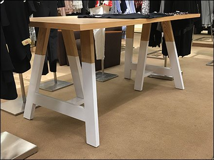 Plimsoll Line Sawhorse Table atMacys
