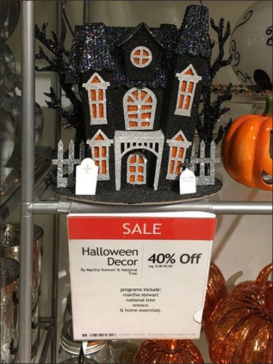 Upscale Halloween Twin Tower Treats