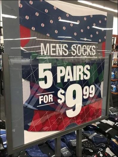 Men's Sock Island Multi-Pair Promotion