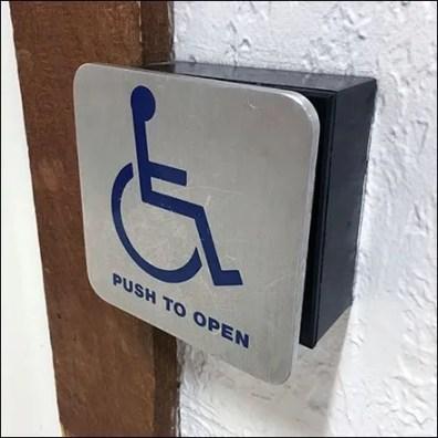 Restroom Door Automation in Modern Retail