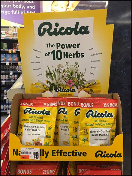 INDEX: Ricola Merchandising And Ricola Store Fixtures