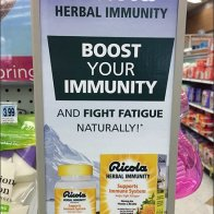 Ricola Herbal Immunity Wingwall Sidekick