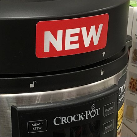 Self-Adhesive New Sticker for Crock Pot