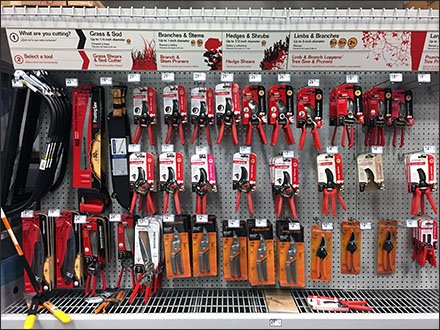 Shears, Pruners, and Cutters Mass Merchandising