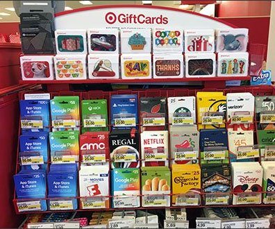 Target Gift Card Flip-Front Label Holder