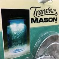 Transform Mason Jars LED Insert by Scan Hook