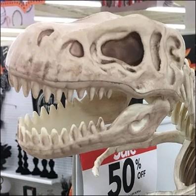 Tyrannosaurus Twins Celebrate Halloween Feature