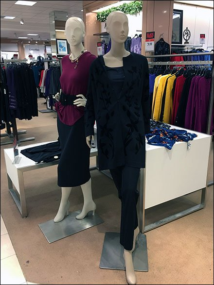 Alopecia Mannequin Spokesmodels at Macys