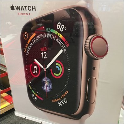 Apple Watch Now At Target Entry Sign