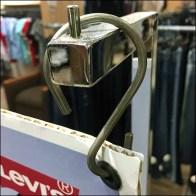Asymmetric S-Hook Sign Hanger Support