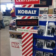Holiday Branded Tool Directionals at Lowes