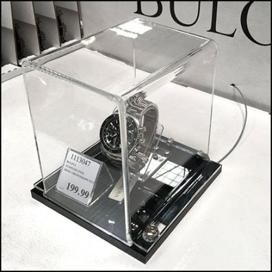 Wrist Watch Mini Museum Case Tether