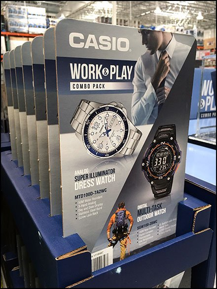 Work-and-Play Wrist-Watch Pick Card