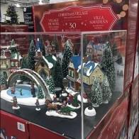 Christmas Village Museum Case Pallet Display