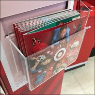 Clip-On Acrylic Literature Holder for Christmas
