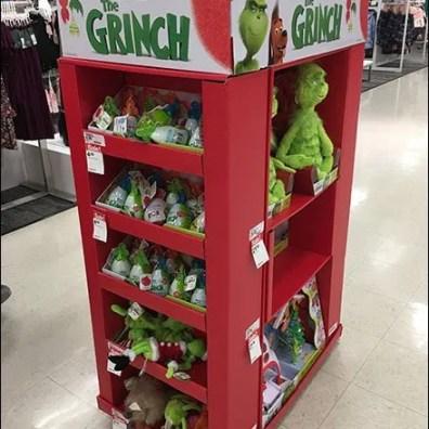Grinch Plush Tower Dr Seuss Display