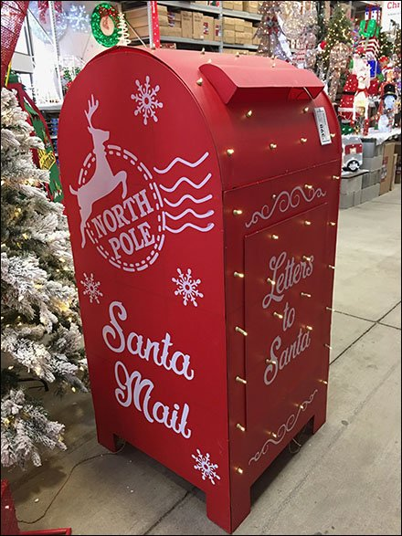 Full-Size Santa's Mailbox Escapes Macys 3