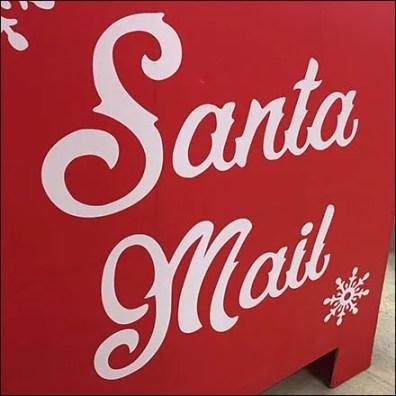 Full-Size Santa's Mailbox Escapes Macys