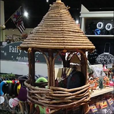 Hand-Crafted Fairy Garden Village Display