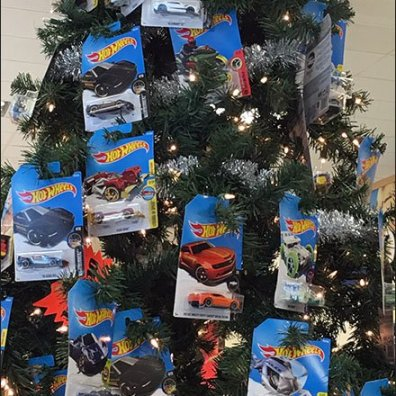 Hot Wheels Christmas Tree Ornaments