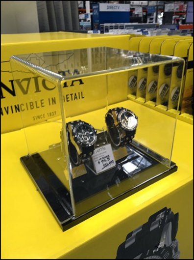 Invicta Invincible Museum Case Display