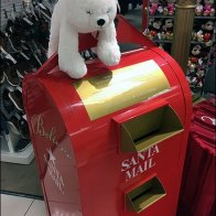 Macys Backstage Believe Polar Bear