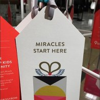 Miracles Start Here Comical Christmas Tree