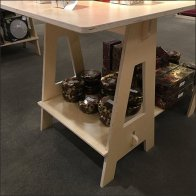 Nordstrom Some Assembly Required Sawhorse Table Aux