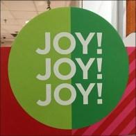 Paul Mitchell Christmas Joy Salon Display Square