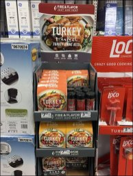 Perfect Turkey Seasoning Brine Kit Display