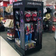 Sexist Power Ranger Point-of-Purchase Display
