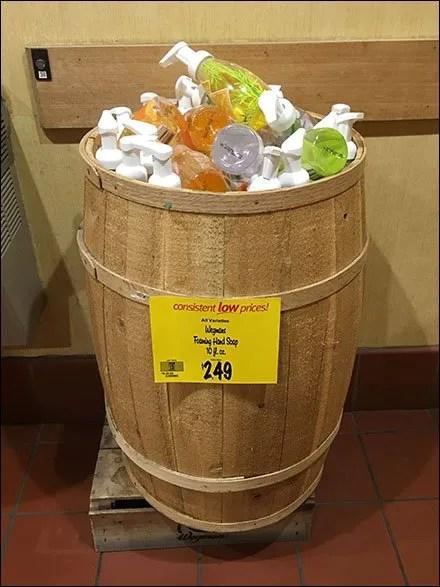 Restroom Hand Soap Barrel Cross Sell