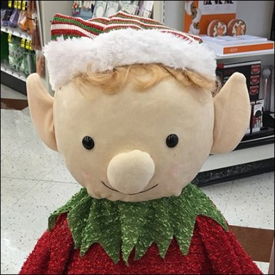 Santa's Animated Elf Store Greeter