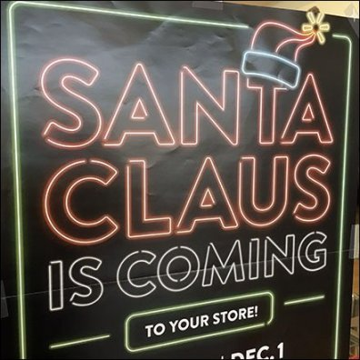 Santa Claus Is Coming To Your Store Feature